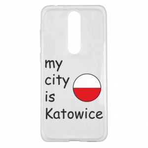 Nokia 5.1 Plus Case My city is Katowice