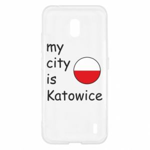 Nokia 2.2 Case My city is Katowice