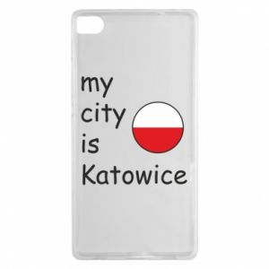Huawei P8 Case My city is Katowice
