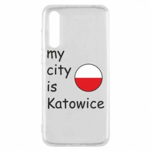 Huawei P20 Pro Case My city is Katowice