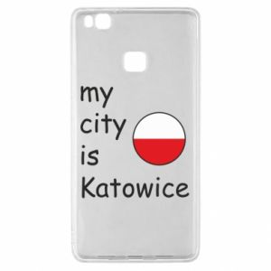 Huawei P9 Lite Case My city is Katowice