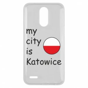Lg K10 2017 Case My city is Katowice