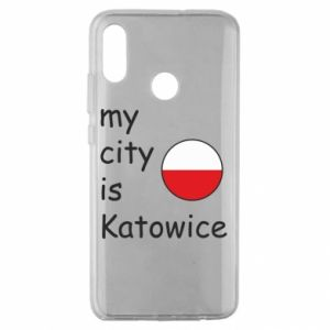 Huawei Honor 10 Lite Case My city is Katowice