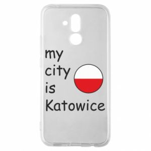 Huawei Mate 20Lite Case My city is Katowice