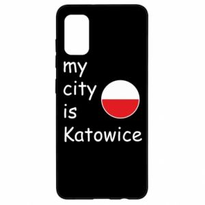 Samsung A41 Case My city is Katowice