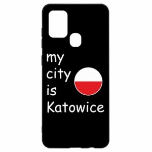 Samsung A21s Case My city is Katowice
