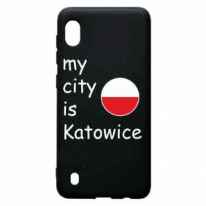 Samsung A10 Case My city is Katowice