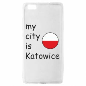 Huawei P8 Lite Case My city is Katowice