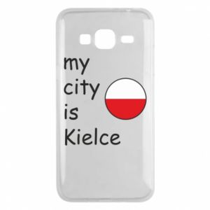 Samsung J3 2016 Case My city is Kielce