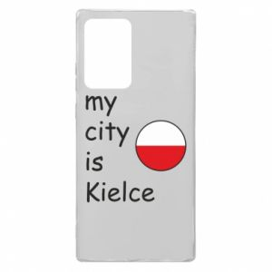 Samsung Note 20 Ultra Case My city is Kielce