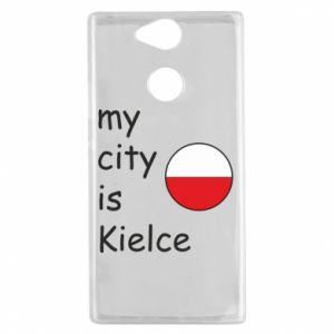 Sony Xperia XA2 Case My city is Kielce