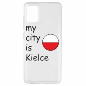 Samsung A51 Case My city is Kielce