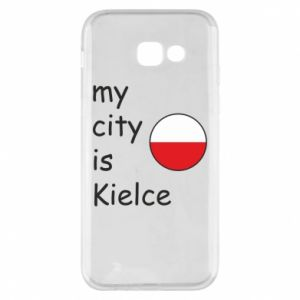 Samsung A5 2017 Case My city is Kielce