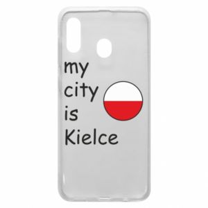 Samsung A20 Case My city is Kielce