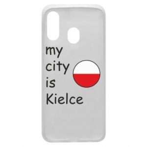 Samsung A40 Case My city is Kielce