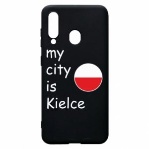 Samsung A60 Case My city is Kielce