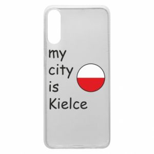 Samsung A70 Case My city is Kielce
