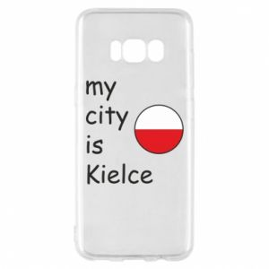 Samsung S8 Case My city is Kielce