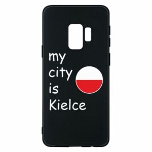 Samsung S9 Case My city is Kielce