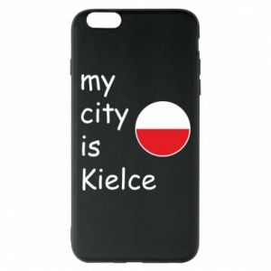 iPhone 6 Plus/6S Plus Case My city is Kielce