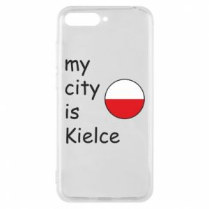 Huawei Y6 2018 Case My city is Kielce