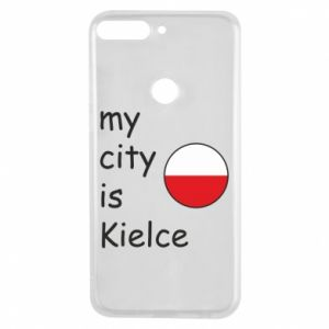 Huawei Y7 Prime 2018 Case My city is Kielce