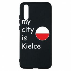 Huawei P20 Case My city is Kielce