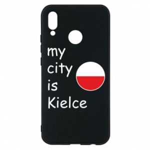 Huawei P20 Lite Case My city is Kielce