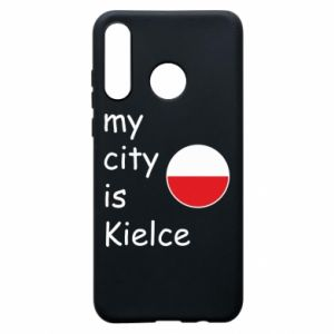 Huawei P30 Lite Case My city is Kielce