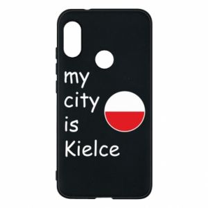 Mi A2 Lite Case My city is Kielce