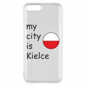 Xiaomi Mi6 Case My city is Kielce