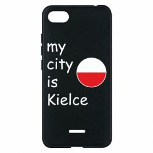 Xiaomi Redmi 6A Case My city is Kielce