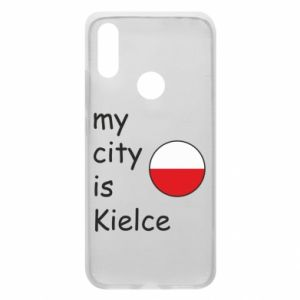 Xiaomi Redmi 7 Case My city is Kielce