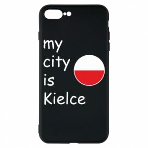 iPhone 7 Plus case My city is Kielce