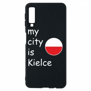Samsung A7 2018 Case My city is Kielce