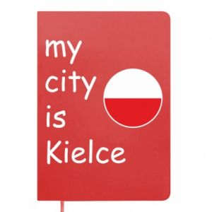 Notepad My city is Kielce