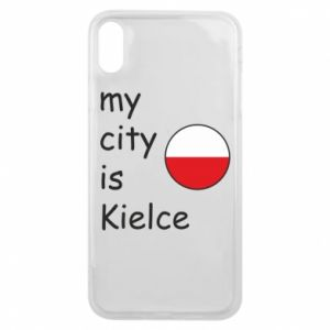iPhone Xs Max Case My city is Kielce