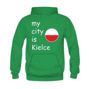 Kid's hoodie My city is Kielce