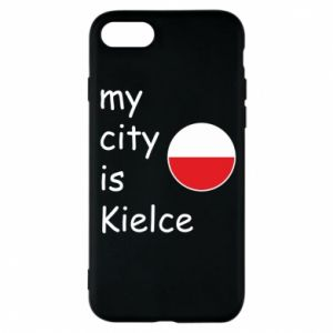iPhone 8 Case My city is Kielce