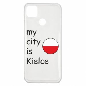 Xiaomi Redmi 9c Case My city is Kielce