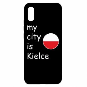 Xiaomi Redmi 9a Case My city is Kielce