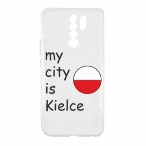 Xiaomi Redmi 9 Case My city is Kielce