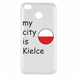 Xiaomi Redmi 4X Case My city is Kielce