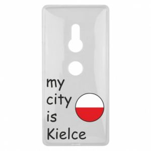 Sony Xperia XZ2 Case My city is Kielce