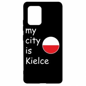 Samsung S10 Lite Case My city is Kielce