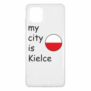 Samsung Note 10 Lite Case My city is Kielce