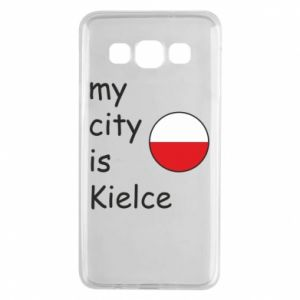 Samsung A3 2015 Case My city is Kielce