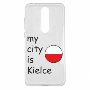 Nokia 5.1 Plus Case My city is Kielce