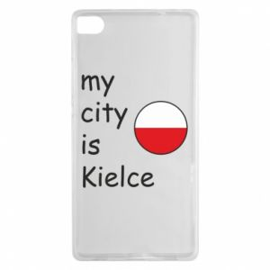 Huawei P8 Case My city is Kielce