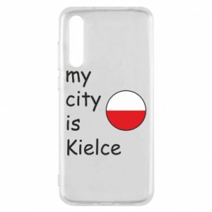 Huawei P20 Pro Case My city is Kielce